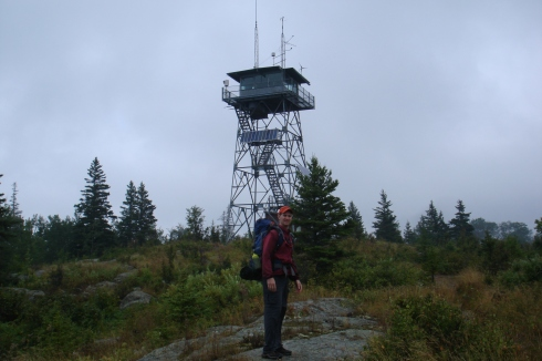 Mt. Ojibway fire tower