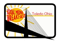 Social Media Breakfast Toledo logo by Lorrie Cesarz